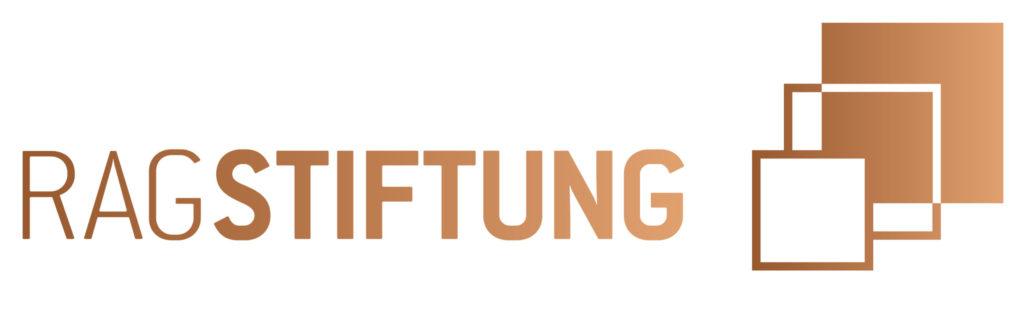 Logo der RAG-Stiftung in gold